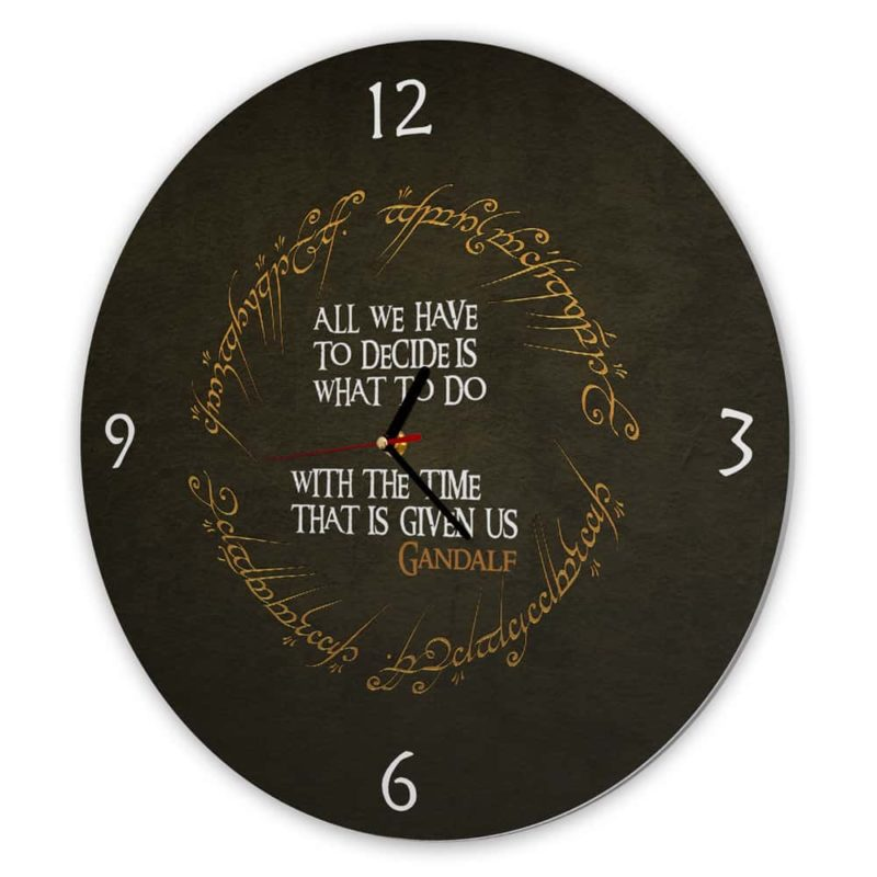 Ceas de perete - Lord of the rings