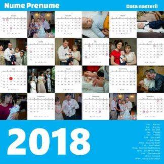 Calendar zi nastere - baiat