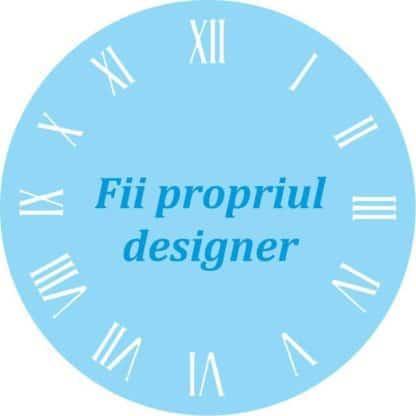 Personalizează singur ceasul tău de perete
