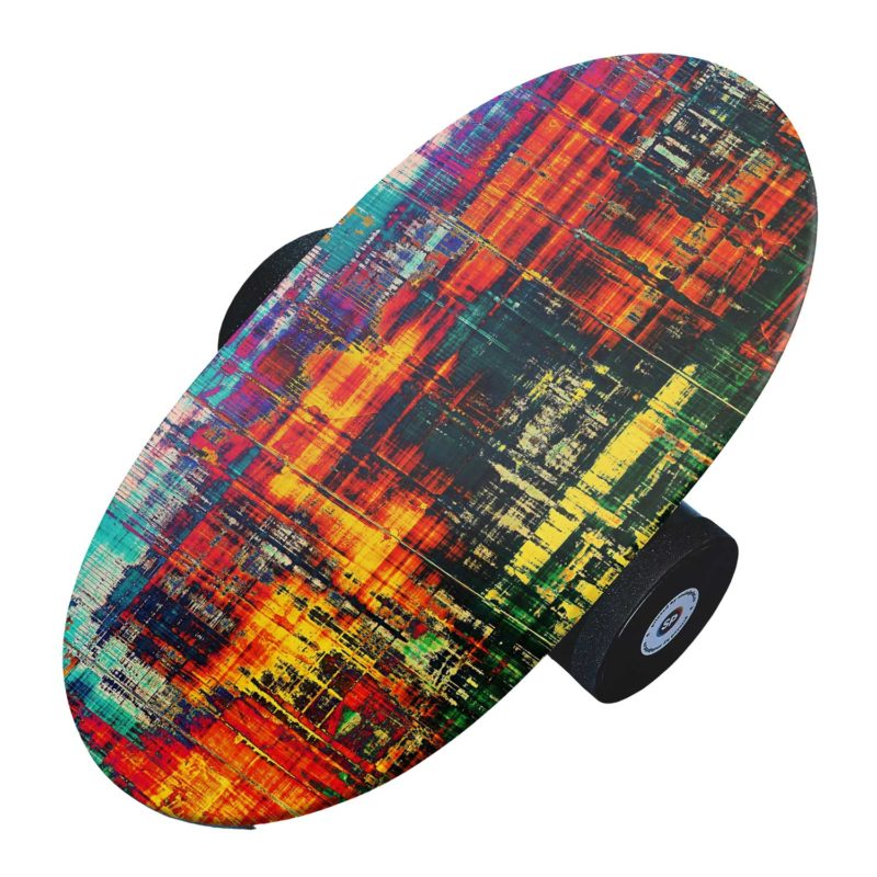 Balance board personalizat - Design abstract