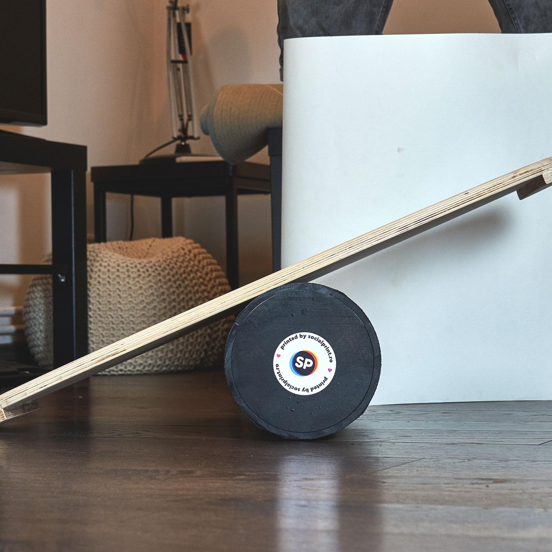 Balance board personalizat - Design abstract