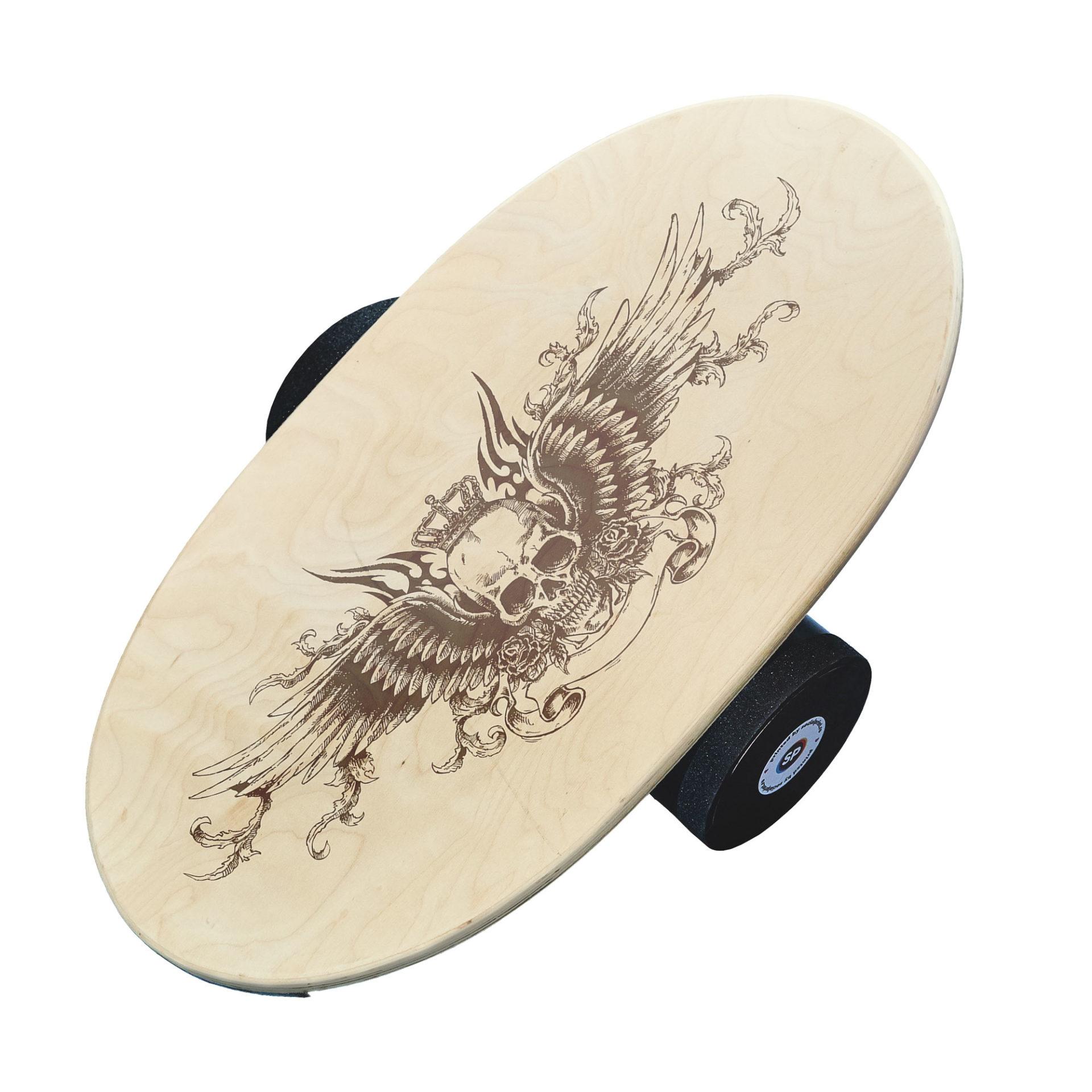 Balance board - Skull Wings